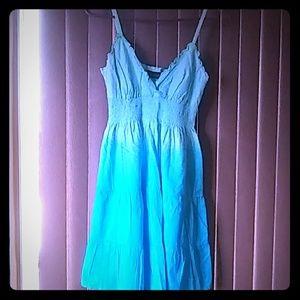 Gorgeous blue strap dress